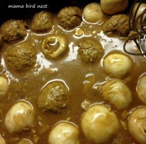 Swedish meatballs 1